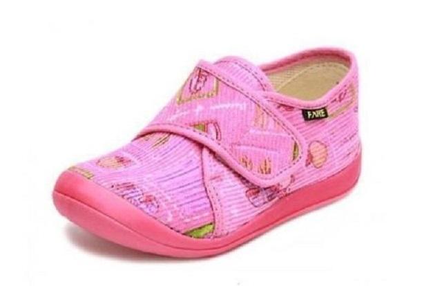 abe1881d7fe Dětské bačkůrky Fare - dětská domácí obuv