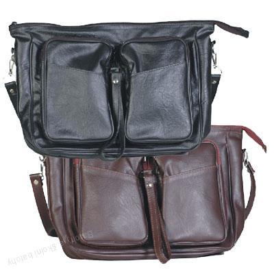 Skládací taška pánská, kabela 146 - černá