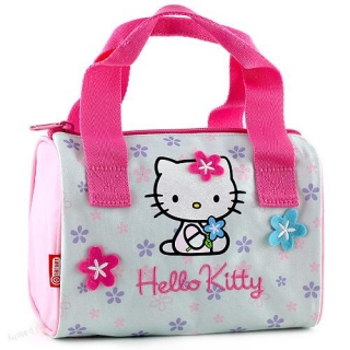 Kabelka Hello Kitty Blue Flower